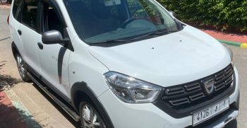 location dacia lodgy 7 place Rabat aéroport