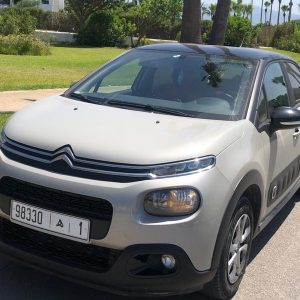 Location Citroen C3 Rabat